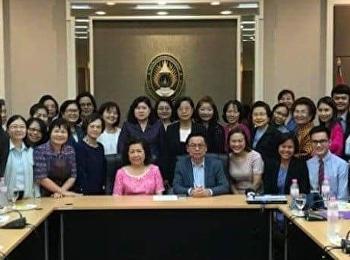 The SSRU College of Nursing and Health held Academic Meeting