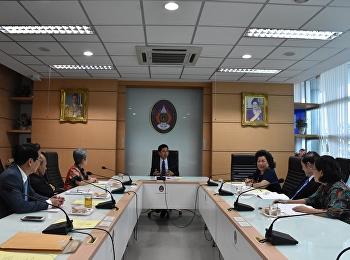 ประชุมคณะกรรมการอำนวยการวิทยาลัยพยาบาลและสุขภาพ ครั้งที่ 1/2561