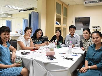 โครงการการประชุมเชิงปฏิบัติการ : การวิพากษ์ข้อสอบ สาขาพยาบาลศาสตร์ ครั้งที่ 1 ประจำภาคเรียนที่ 2 ปีการศึกษา 2560