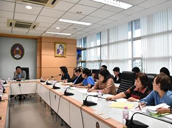จัดประชุมคณะกรรมการอำนวยการวิทยาลัยพยาบาลและสุขภาพ ครั้งที่ 2/2561