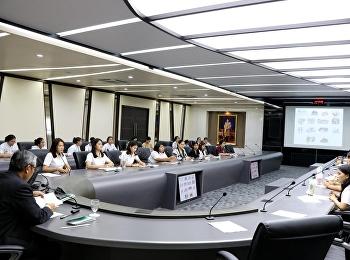 เข้าร่วมประชุมติดตามความก้าวหน้าการดำเนินโครงการออมสินยุวพัฒน์รักษ์ถิ่น
