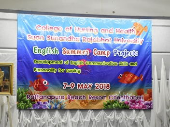 English Camp for the SSRU College of Nursing and Health