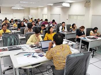 เข้าร่วมประชุมคณะกรรมการการดำเนินงานการพัฒนาปรับปรุงฐานข้อมูลเครือข่ายและเว็บไซต์