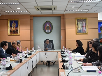 Board meeting College of Nursing and Health