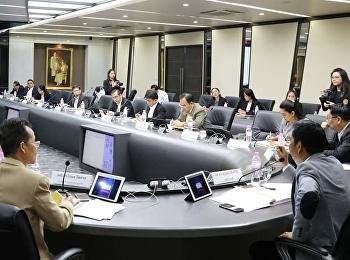 Attended The 11/2018 Rajabhat Suan Sunandha Rajabhat University Board Meeting