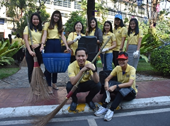 College of Nursing and Health Personnel Join volunteer activities Due to the New Year Festival, 2019