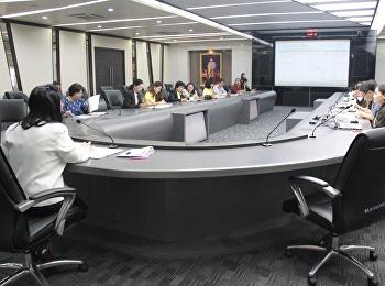 เข้าร่วมประชุมการชี้แจงแนวทางการจัดสรรการวิจัย R2R สำหรับสายสนับสนุนวิชาการ ประจำปี2562
