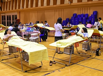 Lecturers, staff and college students, nursing and health Join blood donation