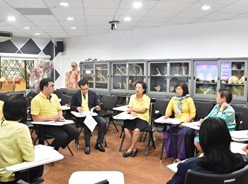 ประชุมคณะกรรมการจัดทำวารสารการพยาบาลและสุขภาพ