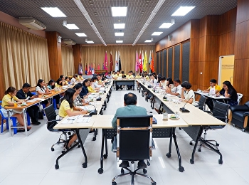 เข้าร่วมประชุมชี้แจงผลการดำเนินงานการปฏิบัติราชการตามตัวชี้วัด ประจำปีงบประมาณ พ.ศ. 2562 รอบ 6 เดือน