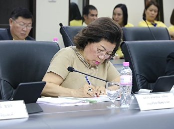 The Dean of the College of Nursing and Health attended Suan Sunandha Rajabhat University Executive Committee meeting.