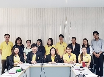 College of Nursing and Health Personnel Attending the quality assurance group meeting