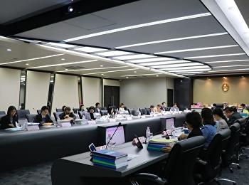การประชุมสภาวิชาการ ครั้งที่ 9/2562