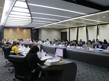 เข้าร่วมการประชุมสภาวิชาการ วาระพิเศษ ครั้งที่ 1/2562