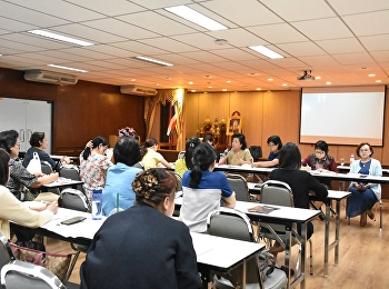 การประชุมอาจารย์และเจ้าหน้าที่ ประจำเดือนตุลาคม 2562