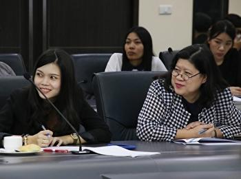 ประชุมชี้แจงการขับเคลื่อนแผนแม่บทภายใต้ยุทธศาสตร์ชาติและระบบติดตามและประเมินผลแห่งชาติ (eMENSCR)