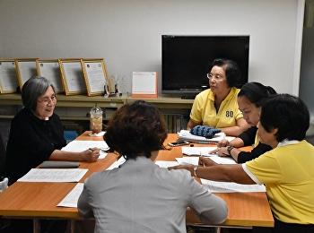 วิทยาลัยพยาบาลและสุขภาพ จัดโครงการประชุมเชิงปฏิบัติการรายวิชาทางการพยาบาล ครั้งที่ 2 ประจำภาคเรียนที่ 1 ปีการศึกษา 2562