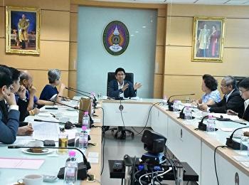 ประชุมคณะกรรมการอำนวยการวิทยาลัยพยาบาลและสุขภาพ ครั้งที่ 6/2562