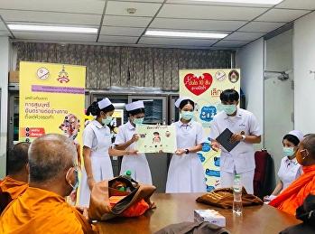 ตัวแทนนักศึกษาชมรมนักศึกษาพยาบาล สร้างสังคมไทยปลอดบุหรี่