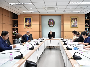 ประชุมคณะกรรมการอำนวยการวิทยาลัยพยาบาลและสุขภาพ ครั้งที่ 5/2563