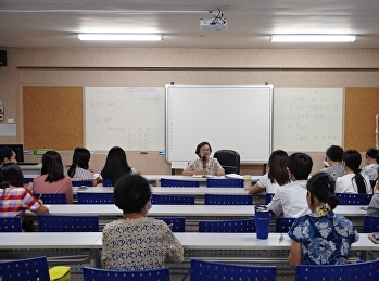 Preparatory meeting for the Graduation & Pinning Ceremony for graduates of the Bachelor of Nursing Science Program
