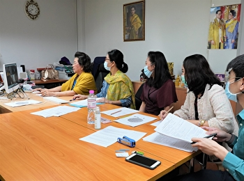Dean of College of Nursing and Health Suan Sunandha Rajabhat University Along with the administrators, faculty members, interviewing and recruiting persons to study in the Bachelor of Nursing Science program