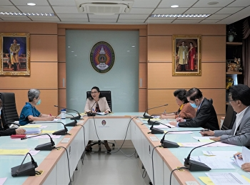 ประชุมคณะกรรมการอำนวยการวิทยาลัยพยาบาลและสุขภาพ ครั้งที่ 3/2564