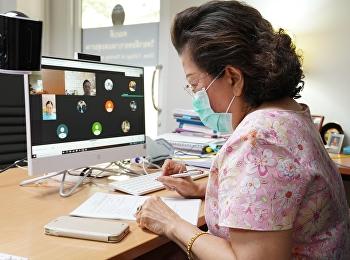 การประชุมวิพากษ์ข้อสอบรายวิชาการพยาบาลผู้ใหญ่และผู้สูงอายุ2 และรายวิชาการพยาบาลเด็กและวัยรุ่น แบบออนไลน์ ผ่าน Application Google Meet