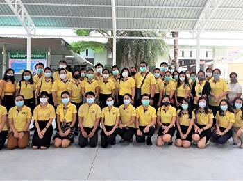 บุคลากรวิทยาลัยพยาบาลและสุขภาพ รับวัคซีน Sinovac เข็มที่ 1
