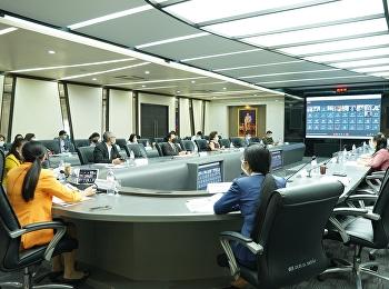 การประชุมคณะกรรมการบริหารมหาวิทยาลัย ครั้งที่ 6/2564
