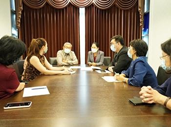 ประชุมเพื่อหารือแนวทางการจ่ายค่าตอบแทนการสอนของหมวดการศึกษาทั่วไป