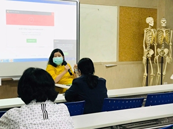 การประชุมกรรมการฯ การจัดทำห้องปฏิบัติการพยาบาล ร่วมกับอาจารย์ผู้รับผิดชอบหลักสูตร ตัวแทนอาจารย์แต่ละกลุ่มวิชา